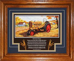 Minneapolis Moline ZA 1949 to 1952 with by AmericanMemoryPrints Minneapolis Moline, Antique Tractors, Summer Rain, Spring Day, Framed Art, Poems, Great Gifts, Art Prints, History