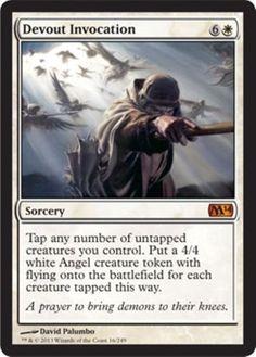 mtg-WHITE-TOKENS-DECK-angels-avacyn-Magic-the-Gathering-rares-card-lot