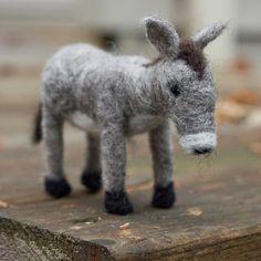 Felted Friend - Donkey