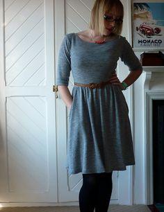 Colette Moneta dress in merino