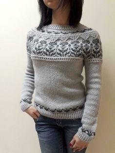 Fair Isle Knitting Patterns, Christmas Knitting Patterns, Sweater Knitting Patterns, Top Down, Fingering Yarn, Lang Yarns, Yarn Brands, Arm Knitting, Mode Inspiration