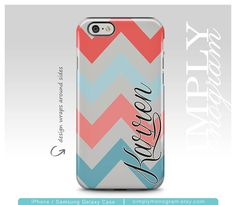 Transparent Chevron iPhone Case with Personalization | simplymonogram on Etsy https://www.etsy.com/listing/185380991/iphone-6s-case-monogram-iphone-6-case