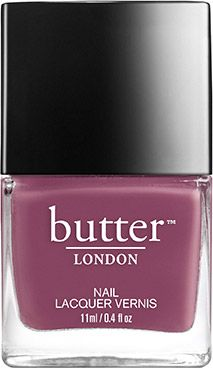 A darker, dustier, brownish variation on a rose pink nail lacquer. Stop to smell them. The roses, not the toffs.