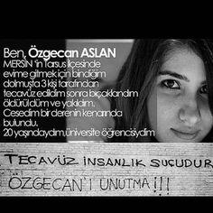 Özgecan Arslan tanıdınız mı ?
