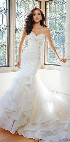 Sophia Tolli Fall 2014 Bridal Collection - Belle Magazine. El Blog de la boda para la novia sofisticada