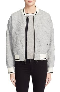 rag & bone/JEAN Quilted Bomber Jacket