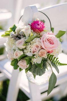 Ceremony flowers: http://www.stylemepretty.com/2015/02/20/elegant-biltmore-estate-wedding/ | Photography: Fete - http://fetephotography.com/