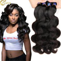 Brazilian Body Wave 4 Bundles Deals 100% Unprocessed 7A Mink Brazilian Body Wave Real Human Hair Wet And Wavy Hair Extension -  http://mixre.com/brazilian-body-wave-4-bundles-deals-100-unprocessed-7a-mink-brazilian-body-wave-real-human-hair-wet-and-wavy-hair-extension/  #HairWeaving