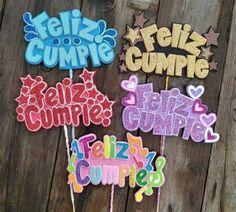 6th Birthday Cakes, Birthday Pins, Birthday Crafts, Birthday Cake Toppers, Happy Birthday Signs, Birthday Messages, Best Birthday Wishes, Chevron Birthday, Free Printable Birthday Cards