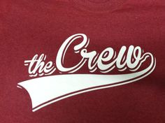 The Crew baseball softball t-shirt - design - screen print - Kearney,NE - Shirt Shack www.shirtshackkearney.com