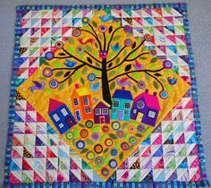 Wendy's quilts and more: Your Place or Mine? - month 8