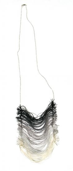 annie lenon gradated necklace... i don't know if this is wearable, but it is definitely cool