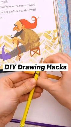 Diy Crafts Hacks, Diy Crafts For Gifts, Paper Crafts For Kids, Craft Activities For Kids, Diy Arts And Crafts, Creative Crafts, Art Crafts, Paper Crafts Origami, Diy Canvas Art