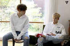 SEVENTEEN S.COUPS + VERNON [스타캐스트] 세븐틴 1ST WORLD TOUR 'DIAMOND EDGE' 일본 MD 촬영 및 일본 콘서트 대기실 비하인드