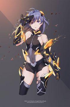 Anime Art Girl, Manga Art, Manga Anime, Anime Girls, Fantasy Character Design, Character Art, Anime Krieger, Anime Warrior, Estilo Anime