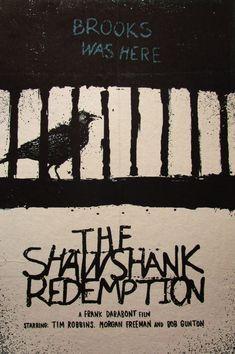 $17.99 AUD - Shawshank Redemption A3 Print Art Poster Retro Canvas Movie Film #ebay #Home & Garden