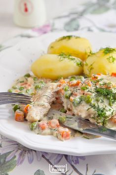 Potato Salad, Main Dishes, Chicken Recipes, Dinner Recipes, Food And Drink, Menu, Tasty, Healthy Recipes, Cooking