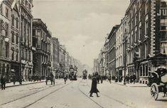 Irish Independence, Grafton Street, Dublin City, Dublin Ireland, Capital City, Vintage Postcards, Old Photos, Location History, The Past