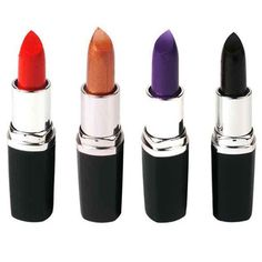 Lipstick - TOOGOO(R)Sexy Pure Color Matte Lipstick Makeup Cosmetic Lip Stick 4 Colors 1234 * This is an Amazon Affiliate link. Continue to the product at the image link.