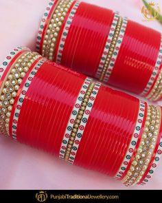 Punjabi Bridal Chura - New Design Bridal Chura Best Price Online