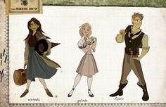 WICKED Imagined as a Disney Animated Film - Character Art