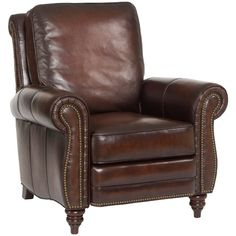 Found it at Wayfair - Leather Recliner