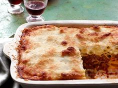 Get Pastitsio Recipe from Food Network