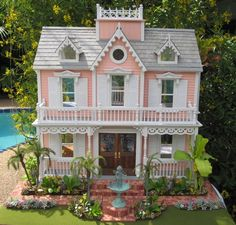 Dollhouses by Robin Carey: The Coral Island House