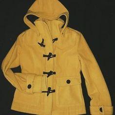PacSun Jackets & Blazers - Mustard  winter coat