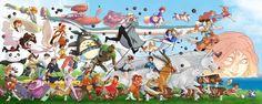 Download hd wallpapers of 38783-Studio Ghibli, My Neighbor Totoro, Spirited Away, Castle In The Sky, Princess Mononoke, Howls Moving Castle, Hayao Miyazaki