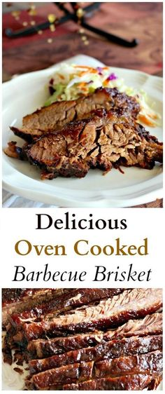Delicious Oven Cooked Barbecue Brisket & My Art Recipes Delicious Oven Cooked Barbecue Brisket & My Art Recipes The post Delicious Oven Cooked Barbecue Brisket Oven Recipes, Meat Recipes, Crockpot Recipes, Chicken Recipes, Cooking Recipes, Recipies, Salad Recipes, Beef Dishes, Food Dishes