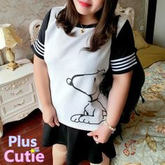 """#spreepicky #plussize #pluscutie #two-piece #shortsleeve #top&skirt #freeship  Free Shipping Worldwide  Material: Polyester  Color: White  Size: L/XL/XXL/XXXL  L:  Bust:100cm/39.30""""  Shoulder:38cm/14.93""""  Top Length:65cm/25.55""""  Skirt Waist:38cm/14.93""""  Skirt Length:44cm/17.29""""  XL:  Bust:110cm/43.23""""  Shoulder:40cm/15.72""""  Top Length:65cm/25.55""""  Skirt Waist:42cm..."""