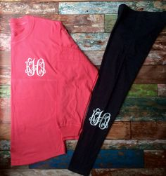 Glitter Monogram Pullover Over sized Preppy by PoshPrincessBows1