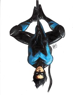 "are-you-kobra-kidding-me: "" Nightwing is literally my favorite hero ever """