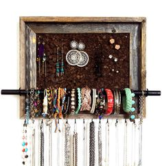 9x12 Custom Jewelry Organizer by AfterTheLeavesFall on Etsy, $38.00