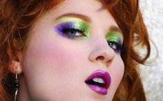 maquiagem anos 80 - Pesquisa Google