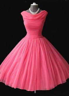 Long A-Line Cowl Short/Mini Tulle Prom Dresses 2017