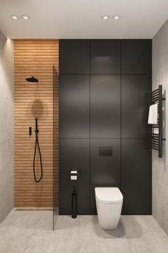 Modern Small Bathrooms, Modern Bathroom, Bathroom Design Luxury, Home Interior Design, Minimalist Toilets, Bedroom False Ceiling Design, Upstairs Bathrooms, Bathroom Renos, Bathroom Inspiration