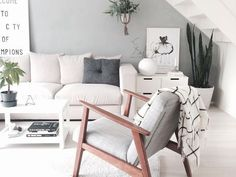 Amazing Best Small Living Room Ideas With Scandinavian Style Awe 44 Lamp And Stylish Scandinavian Living Room Designs Inspirations Small Living Rooms, My Living Room, Living Room Interior, Home And Living, Living Room Furniture, Living Room Designs, Living Room Decor, Cozy Living, Interior Livingroom