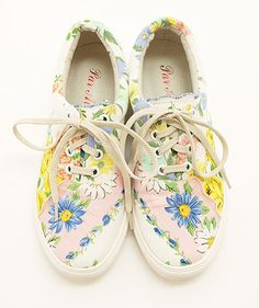 spring themed lace-ups