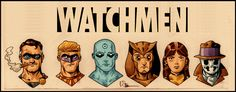 "failed-mad-scientist:  "" Watchmen - Evan ""Doc"" Shaner  """