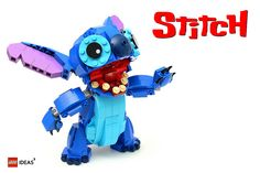 Ohana means family, and you'll want this adorable LEGO Stitch to be family