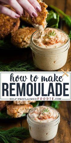 Dip Recipes, Seafood Recipes, Appetizer Recipes, Cooking Recipes, Sandwich Recipes, Easy Cajun Recipes, Crab Cake Recipes, Hot Sauce Recipes, Side Dishes