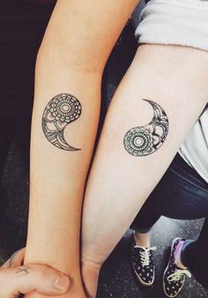 Yin Yang • Couple Tattoo
