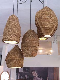 Cardboard lights...
