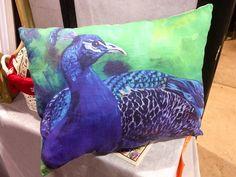 at Holiday Market, November 2016 Peacock Pillow, Holiday Market, Gift Guide, November, Lovers, Throw Pillows, Marketing, Garden, Gifts