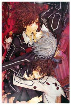 Film Aesthetic, Aesthetic Anime, Yuki And Kaname, Vampire Knight Zero, Yuki And Zero, Knight Art, Romantic Manga, Vampire Hunter, Manga Covers