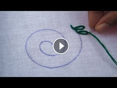 Hand EmbroideryLazy Daisy Stitch and Lazy Daisy StitchEasy Flower StitchCrafts & Embroidery Ribbon Work, Chain Stitch, Lazy, Stitches, Tutorials, Diy Crafts, Embroidery, Flower, Free