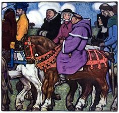 Walter Appleton Clark, The Canterbury Tales: White of Bath's tale, So much of Dalliance and fair speech (138)
