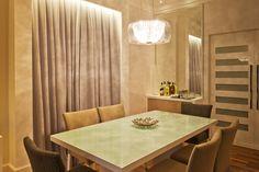 Apartamento nos Jardins - Sala de Jantar Projeto - Enzo Sobocinski Arquitetura
